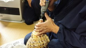 法螺貝製作実習3