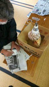 法螺貝製作実習5